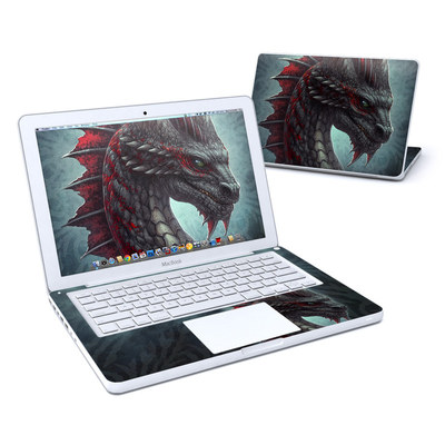 MacBook 13in Skin - Black Dragon