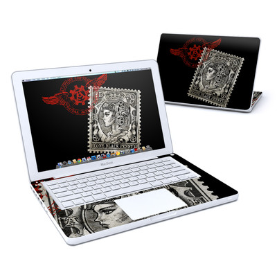 MacBook 13in Skin - Black Penny