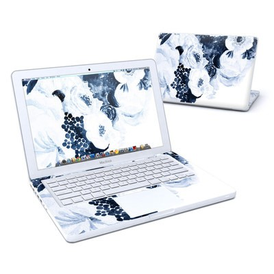 MacBook 13in Skin - Blue Blooms