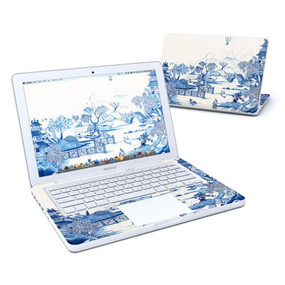 MacBook 13in Skin - Blue Willow