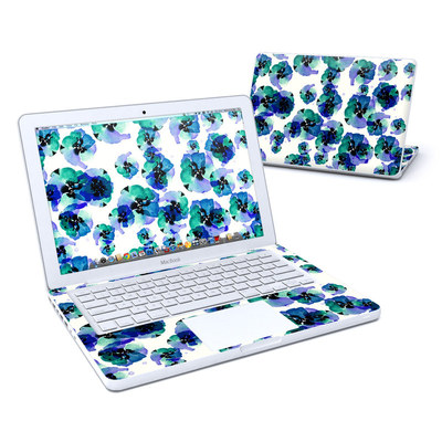 MacBook 13in Skin - Blue Eye Flowers