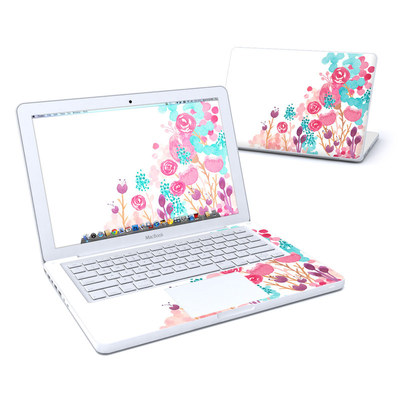 MacBook 13in Skin - Blush Blossoms