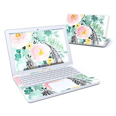MacBook 13in Skin - Blushed Flowers