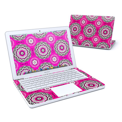MacBook 13in Skin - Boho Girl Medallions