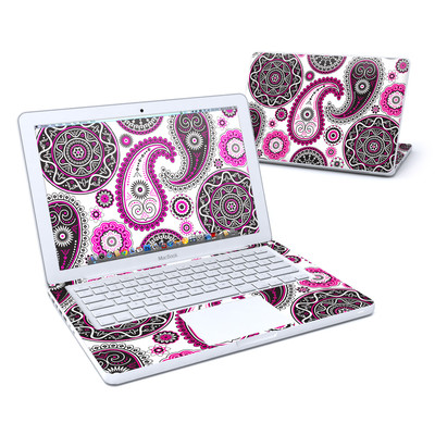 MacBook 13in Skin - Boho Girl Paisley