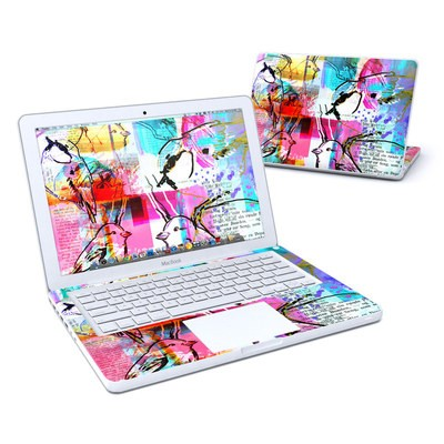 MacBook 13in Skin - Book Birds
