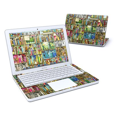 MacBook 13in Skin - Bookshelf