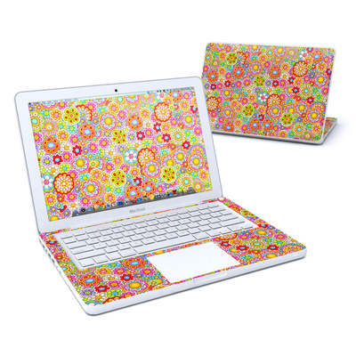 MacBook 13in Skin - Bright Ditzy