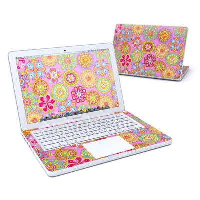 MacBook 13in Skin - Bright Flowers