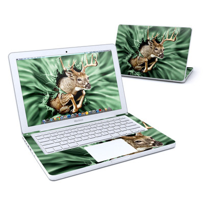 MacBook 13in Skin - Break Through Deer