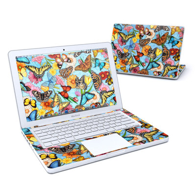 MacBook 13in Skin - Butterfly Land