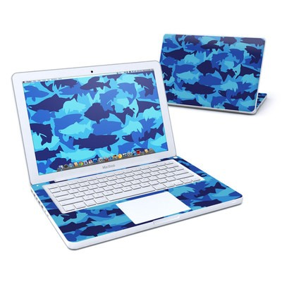 MacBook 13in Skin - Camo Fish