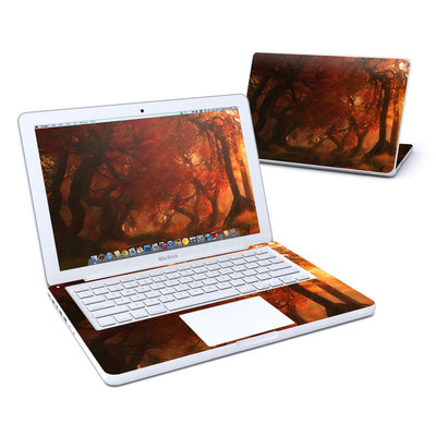 MacBook 13in Skin - Canopy Creek Autumn