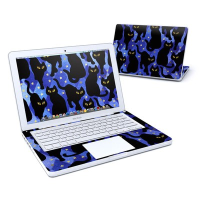 MacBook 13in Skin - Cat Silhouettes