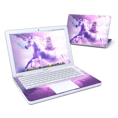 MacBook 13in Skin - Cat Unicorn