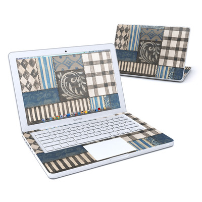 MacBook 13in Skin - Country Chic Blue