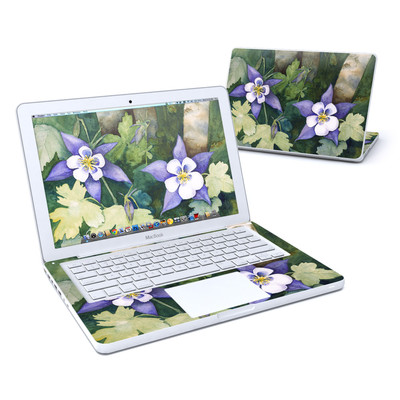 MacBook 13in Skin - Colorado Columbines