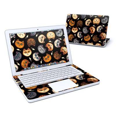 MacBook 13in Skin - Cat Faces