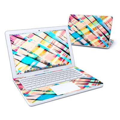 MacBook 13in Skin - Check Stripe
