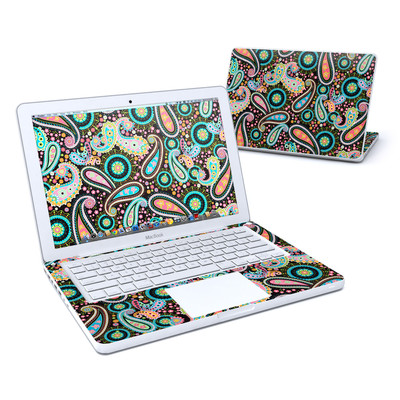 MacBook 13in Skin - Crazy Daisy Paisley