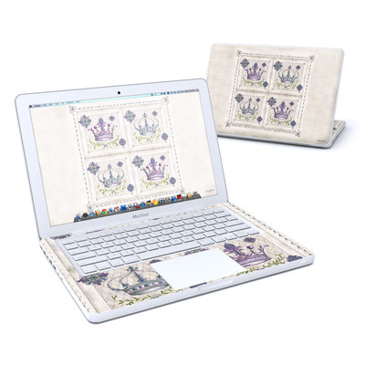 MacBook 13in Skin - Purple Crown