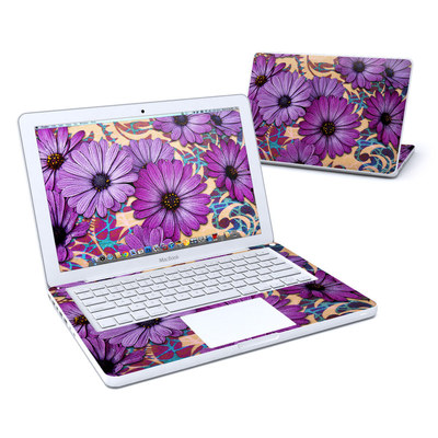 MacBook 13in Skin - Daisy Damask