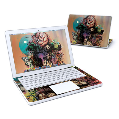 MacBook 13in Skin - Doom and Bloom