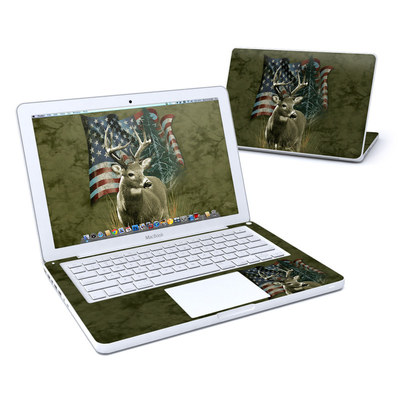 MacBook 13in Skin - Deer Flag