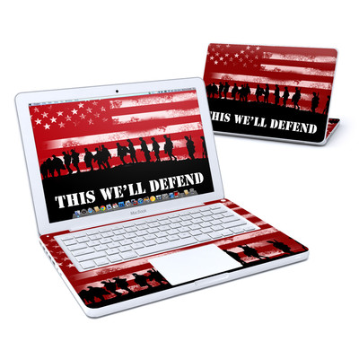 MacBook 13in Skin - Defend