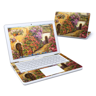 MacBook 13in Skin - Via Del Fiori