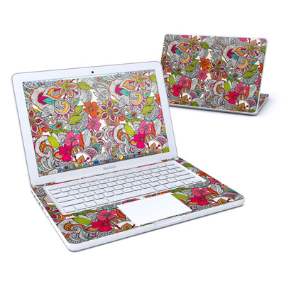 MacBook 13in Skin - Doodles Color