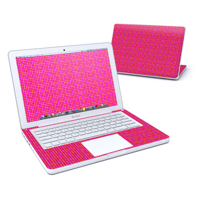 MacBook 13in Skin - Dots Pink