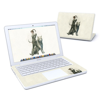 MacBook 13in Skin - Half Elf Girl