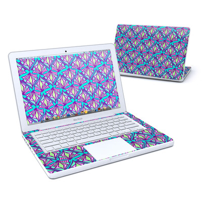 MacBook 13in Skin - Fly Away Teal