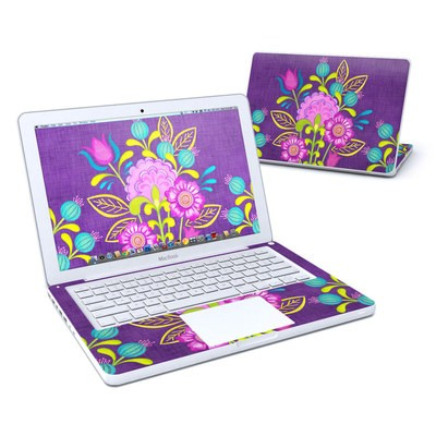 MacBook 13in Skin - Floral Bouquet