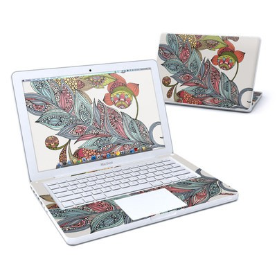 MacBook 13in Skin - Feather Flower