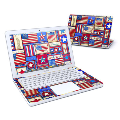 MacBook 13in Skin - Flag Patchwork