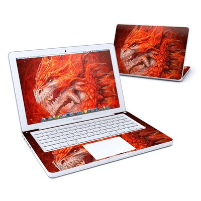 MacBook 13in Skin - Flame Dragon