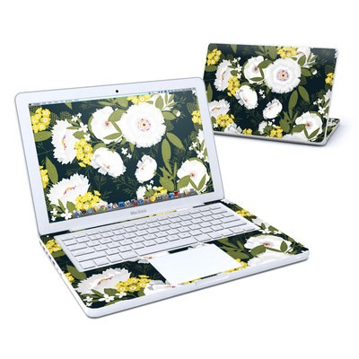 MacBook 13in Skin - Fleurette Night