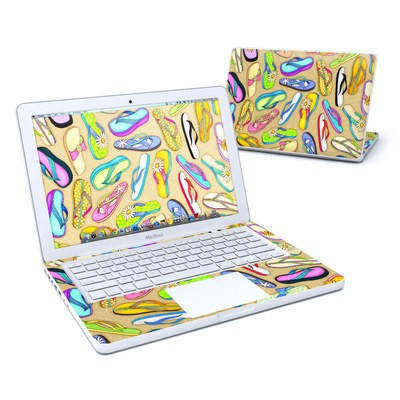 MacBook 13in Skin - Flip Flops