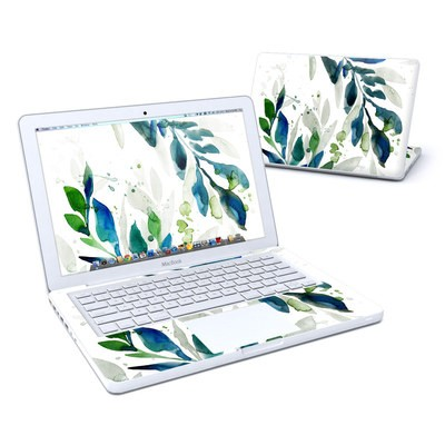 MacBook 13in Skin - Floating Leaves