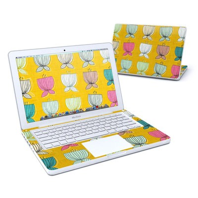 MacBook 13in Skin - Flower Cups