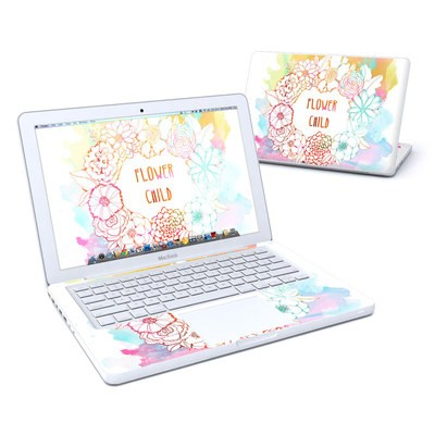 MacBook 13in Skin - Flower Child