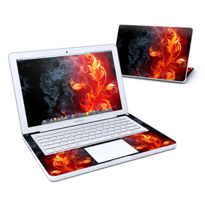 MacBook 13in Skin - Flower Of Fire