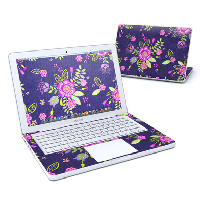 MacBook 13in Skin - Folk Floral