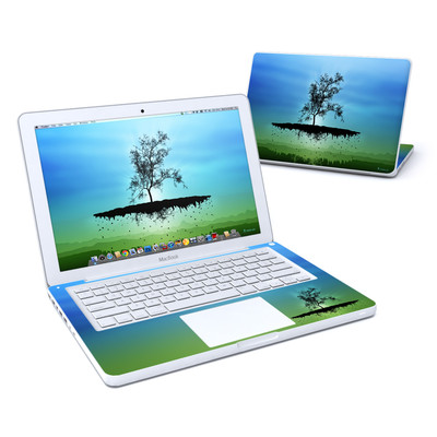MacBook 13in Skin - Flying Tree Blue