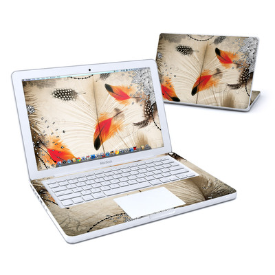 MacBook 13in Skin - Feather Dance