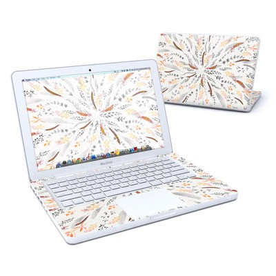 MacBook 13in Skin - Feather Roll
