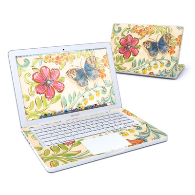 MacBook 13in Skin - Garden Scroll