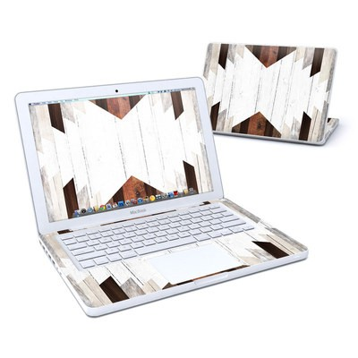 MacBook 13in Skin - Geo Wood